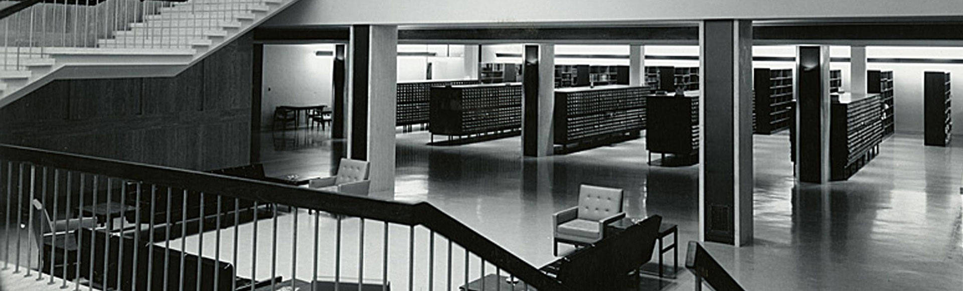 MILTON S. EISENHOWER LIBRARY, THE JOHNS HOPKINS UNIVERSITY
